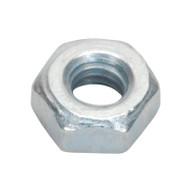 Sealey SN3 Steel Nut M3 Zinc DIN 934 Pack of 100