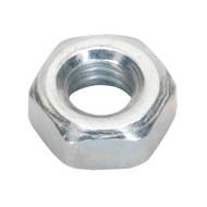 Sealey SN4 Steel Nut M4 Zinc DIN 934 Pack of 100