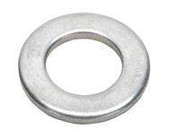 Sealey FWA1630 Flat Washer M16 x 30mm Form A Zinc DIN 125 Pack of 50