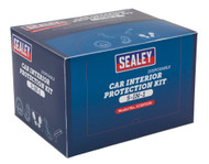 Sealey CCSET550 5-in-1 Disposable Car Interior Protection Kit Display Box of 50