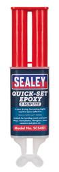 Sealey SCS401 Quick-Set 5 Min Epoxy Adhesive 25ml