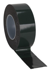 Sealey DSTG5010 Double-Sided Adhesive Foam Tape 50mm x 10mtr Green Backing