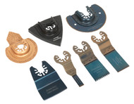 Sealey SMTS7 Multi-Tool All-Purpose Blade Set 7pc