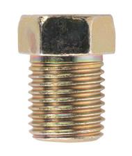 Sealey BN10100FT Brake Pipe Nut M10 x 1mm Full Thread Male Pack of 25