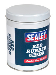 Sealey SCS110 Red Rubber Grease 500g Tin