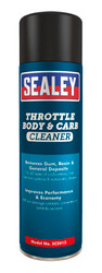 Sealey SCS013 Throttle Body & Carburettor Cleaner 500ml Pack of 6