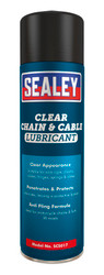 Sealey SCS017 Chain & Cable Clear Lubricant 500ml Pack of 6