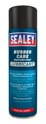 Sealey SCS043 Rubber Care Silicone Free Lubricant 500ml Pack of 6