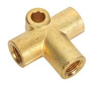 Sealey BC101003WAY Brake Tube Connector M10 x 1mm 3-Way
