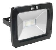 Sealey LED082 Floodlight with Wall Bracket 50W SMD LED 230V