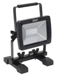 Sealey LED090 Portable Floodlight 10W SMD LED 230V