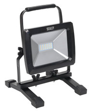 Sealey LED093 Portable Floodlight 20W SMD LED 110V