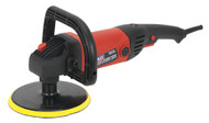 Sealey MS875PS Sander/Polisher åø180mm Variable Speed 1200W/230V