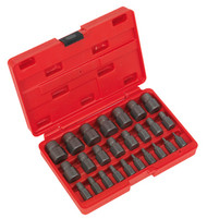 Sealey AK8182 Multi Spline Screw Extractor Set 25pc