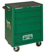 Bahco BAH1470GREEN - Racing Green 5 Drawer Tool Trolley + Inlays 145 Piece Set