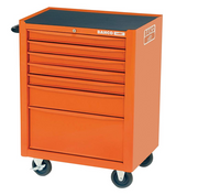 Bahco BAH1470K7 - 1470K7 Tool Trolley 7 Drawer Orange