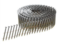 Bostitch BOSF280R65GQ - 2.8 x 65mm Coil Nails Ring Shank Galvanised Pack of 7,500
