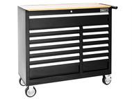 Britool Expert BRIE010147B - Roller Cabinet 13 Drawer Wide - Black