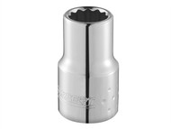 Britool Expert BRIE113841B - Bi-Hexagon Socket 12 Point 3/8in Drive 18mm