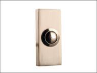 Byron BYR2204BN - 2204BN Wired Bell Push Bushed Nickel