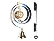 Byron BYR62500K - 62500K Mechanical Butlers Bell & Iron Pull Kit