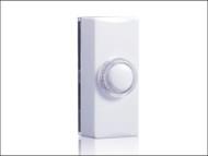 Byron BYR7730 - 7730 Bell Push Illuminated White