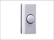 Byron BYR7910 - 7910 Plastic Bell Push White