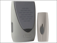 Byron - BY201F Wirefree Portable Door Bell 100m