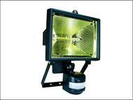 Byron BYRES400 - ES400 Halogen Floodlight with PIR Black 400 Watt