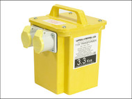 Carroll & Meynell C/M33002 - 3300/2 Transformer Twin Outlet Rating 3.3 Kva Continuous 1.65kva