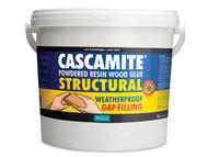 Polyvine CAS3KG - Cascamite One Shot Structural Wood Adhesive Tub 3kg