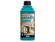 Polyvine CASMPBG500 - Exterior & Interior Metallic Paint Bright Gold 500ml
