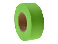 C H Hanson CHH17001 - Flagging Tape Fluorescent Lime 46m (150ft)