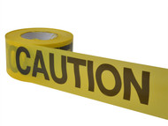 C H Hanson CHH19000 - Economy Grade Barrier Tape - Caution Yellow 305m (1000ft)
