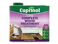Cuprinol CUP5ST25L - 5 Star Complete Wood Treatment 2.5 Litre