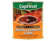 Cuprinol CUPGFSO750 - Softwood & Hardwood Garden Furniture Stain Oak 750ml