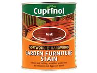 Cuprinol CUPGFST750 - Softwood & Hardwood Garden Furniture Stain Teak 750ml