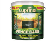 Cuprinol CUPLMFCWG6L - Less Mess Fence Care Woodland Green 6 Litre