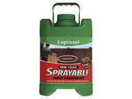 Cuprinol CUPSFTAB5L - Spray Fence Treatment Autumn Brown 5 Litre