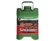 Cuprinol CUPSFTAG5L - Spray Fence Treatment Autumn Gold 5 Litre
