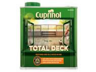 Cuprinol CUPTDC25L - Total Deck Restore & Oil Wood Clear 2.5 Litre