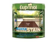 Cuprinol CUPUTDSCF25L - Anti Slip Decking Stain Cedar Fall 2.5 Litre
