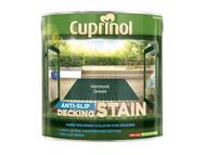 Cuprinol CUPUTDSVG25L - Anti Slip Decking Stain Vermont Green 2.5 Litre