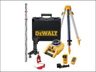 DEWALT DEW075PK - DW075PK Self-Levelling Horizontal & Vertical Rotary Laser