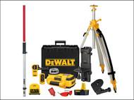 DEWALT DEW079PKH - DW079PKH Self Levelling Rotary Laser Level Kit