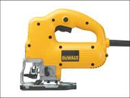 DEWALT DEW341K - DW341K Variable Speed Jigsaw Top Handle 550 Watt 230 Volt
