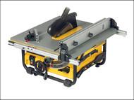 DEWALT DEW745 - DW745 250mm Portable Site Saw 1850 Watt 230 Volt
