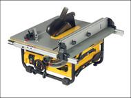 DEWALT DEW745RSL - DW745RS 250mm Portable Site Saw & DE7400 Stand 1700 Watt 110 Volt
