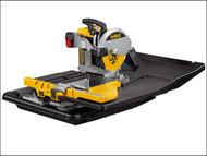 DEWALT DEWD24000 - D24000 Wet Tile Saw with Slide Table 1600 Watt 240 Volt