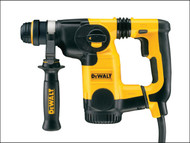 DEWALT DEWD25323K - D25323K L Shape SDS Plus 3 Mode Low Vibration Hammer 800 Watt 240 Volt